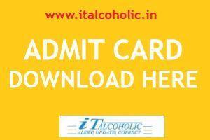 Admit Card RSMSSB Patwari 2020
