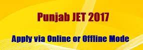 Punjab JET 2017 Polytechnic Application form Exam Date Pattern