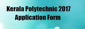 Kerala Polytechnic 2017 Application form Eligibility Exam Date