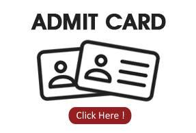 Admit Card of AIPMT 2019
