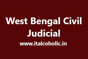 West Bengal Civil Judicial 2019