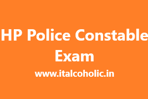 HP Police Constable Exam Date 2019